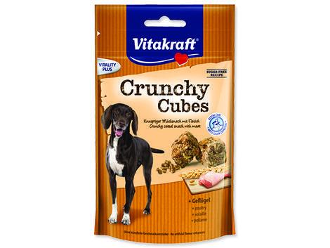 VITAKRAFT Crunchy kostky drůbeží 140g