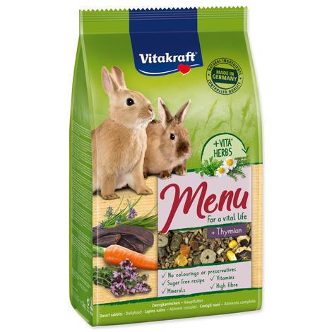 Menu VITAKRAFT Rabbit Thymian bag 1kg
