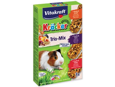 Kracker VITAKRAFT Guinea Pig Honey + Fruit + Nut 3ks
