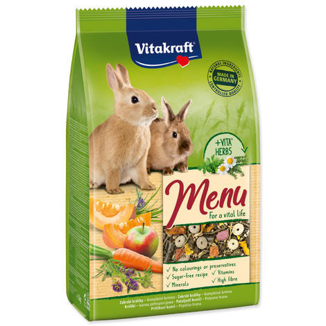 Menu VITAKRAFT Vital Rabbit 3kg