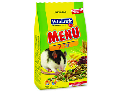 Menu VITAKRAFT Rat bag 400g