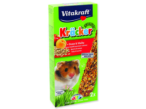 Kracker VITAKRAFT Hamster Fruit 2ks