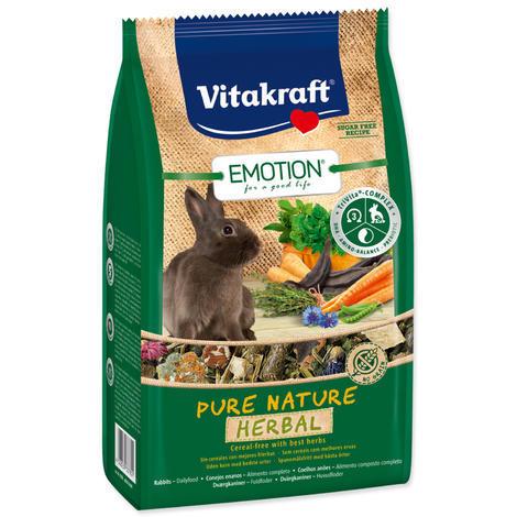 VITAKRAFT Emotion herbal králík  600 g