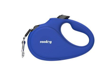 Reedog Senza Basic samonavíjecí vodítko L  50kg / 5m páska / modré