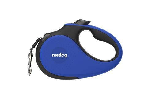 Reedog Senza Premium samonavíjecí vodítko M 25kg / 5m páska / modré