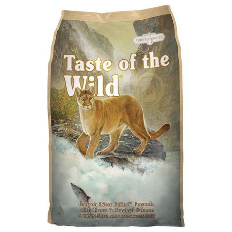 Granule Taste of the Wild Canyon River Feline 2kg