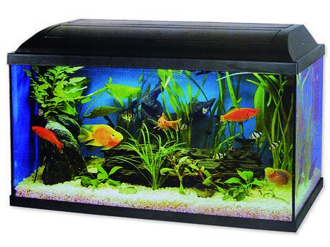 Akvarium set CAT-GATO 80 x 30 x 40 cm !! POUZE OSOBNÍ ODBĚR !! 96l