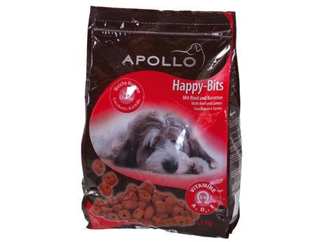 Kroužky APOLLO Happy Bits hovězí + mrkev 1,5kg