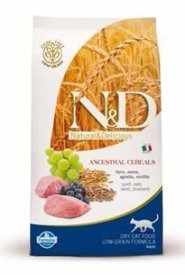 N&D Low Grain CAT Adult Lamb & Blueberry