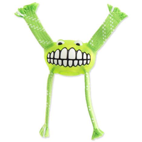 Hračka ROGZ Flossy Grinz zelená S 1ks
