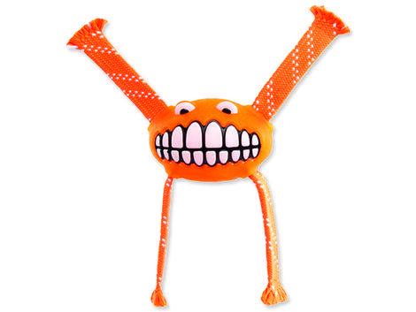 Hračka ROGZ Flossy Grinz oranžová L 1ks