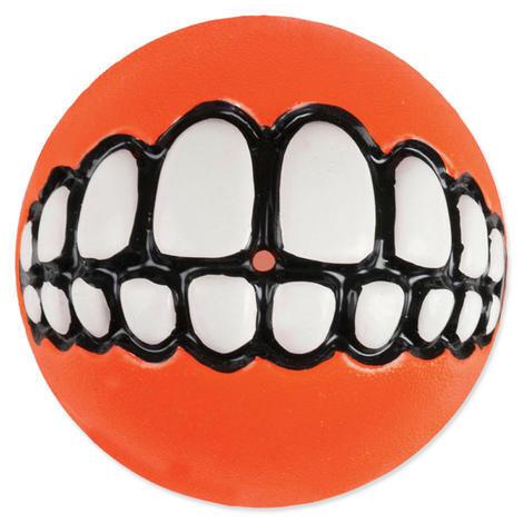 Hračka ROGZ míček Grinz oranžový  S