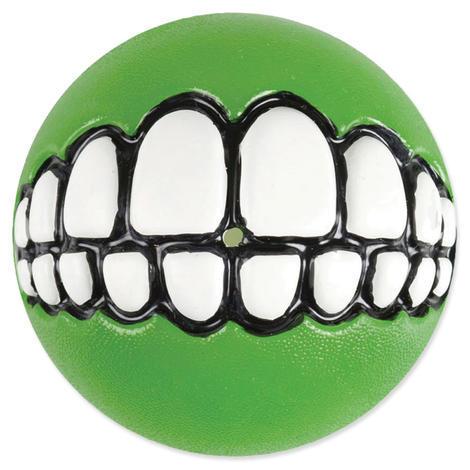 Hračka ROGZ míček Grinz limetkový  M