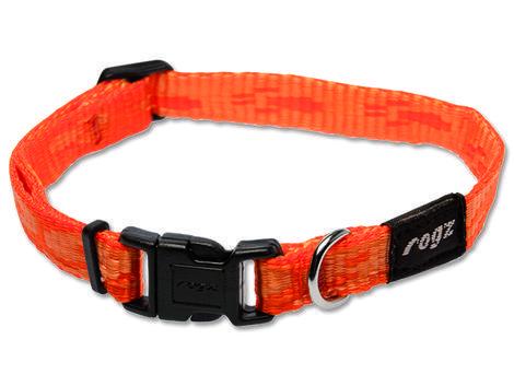 Obojek ROGZ Alpinist Kilimanjaro oranžový  S