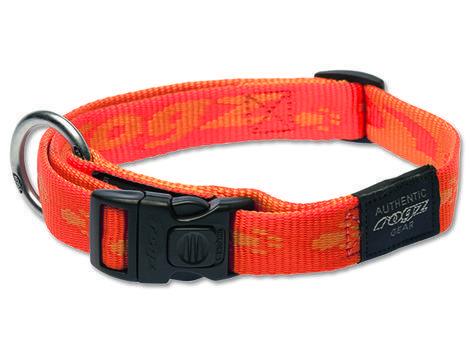 Obojek ROGZ Alpinist oranžový  L