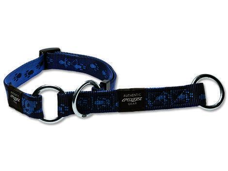 Obojek ROGZ Alpinist polostahovací modrý  M