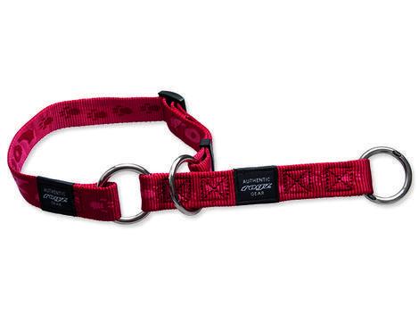 Obojek ROGZ Alpinist polostahovací červený  M