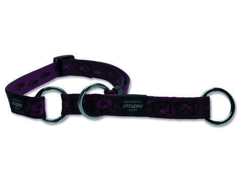 Obojek ROGZ Alpinist polostahovací fialový  M