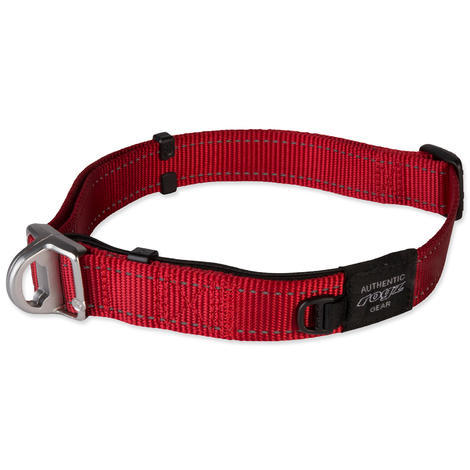 Obojek ROGZ Safety Collar červený