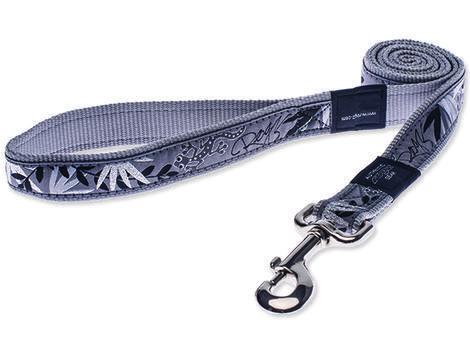 Vodítko ROGZ Fancy Dress Silver Gecko  XL