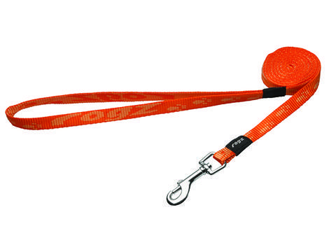 Vodítko ROGZ Alpinist oranžové  M