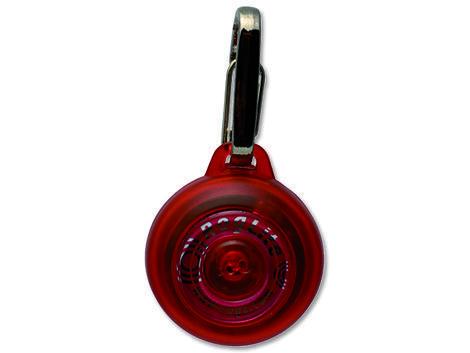 Známka ROGZ RogLite červená 3,1 cm