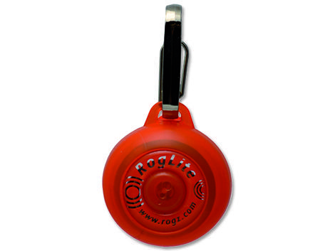 Známka ROGZ RogLite oranžová 3,1 cm