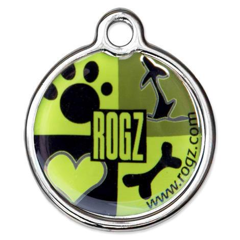 Známka ROGZ Metal Lime Juice kovová  L