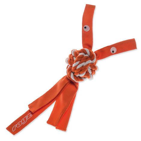 Hračka ROGZ CowBoyz provazová oranžová L L