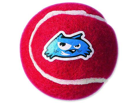 Hračka ROGZ tenisák Molecules červený  M