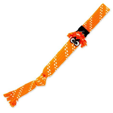 Hračka ROGZ Scrubz přetahovadlo oranžové  L