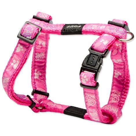 Postroj ROGZ Fancy Dress Pink Paw  S