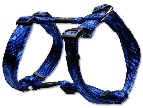 Postroj ROGZ Alpinist-K 2 modrý  L