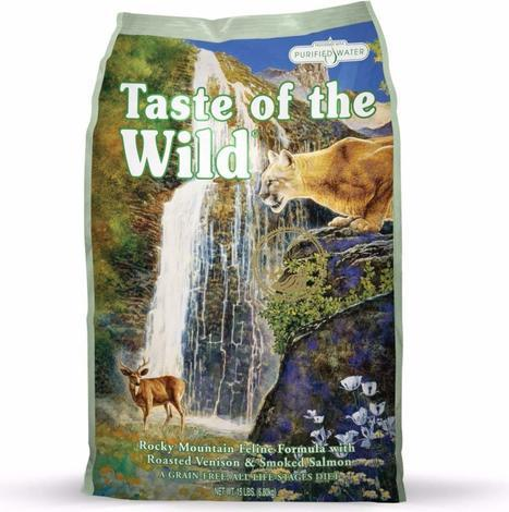 Granule Taste of the Wild Rocky Mtn Feline 7kg