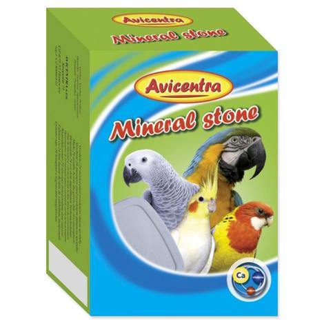 Blok minerální AVICENTRA s drcenými mušlemi pro papoušky kámen s drcenými mušlemi