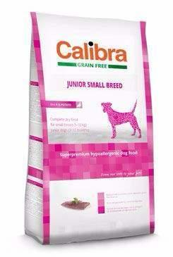 Calibra Dog GF Junior Small Breed Duck 2kg
