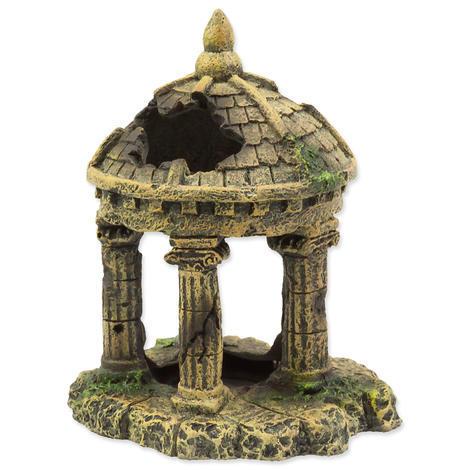 Dekorace Zřícenina hradu  10,4 cm