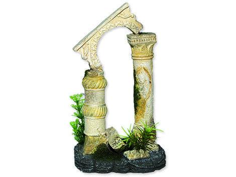Dekorace AQUA EXCELLENT antické sloupy 12,5 x 10,5 x 20 cm 12,5 x 10,5 x 20 cm