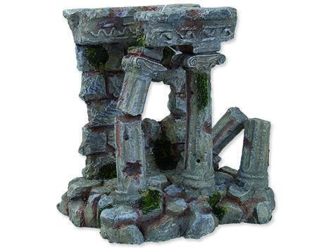 Dekorace AQUA EXCELLENT antické sloupy 14,3 x 12 x 14,4 cm 14,3 x 12 x 14,4 cm