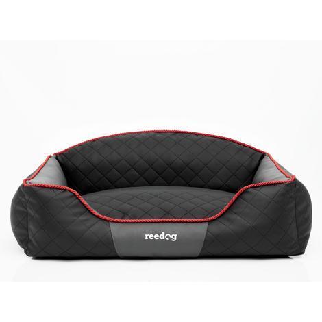 Pelíšek pro psa Reedog Black & Grey Sofa