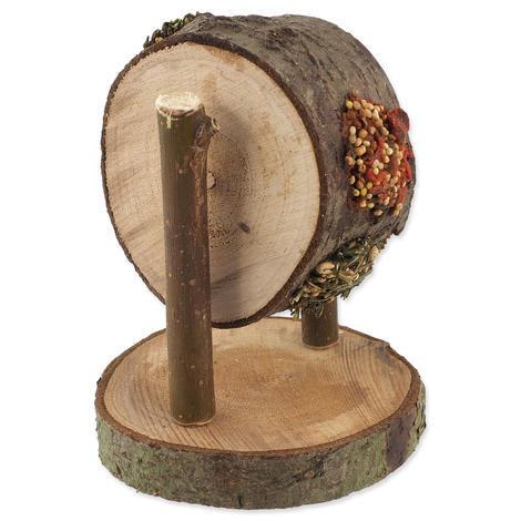 Pochoutka NATURE LAND Nibble kolo dřevěné plněné 200g