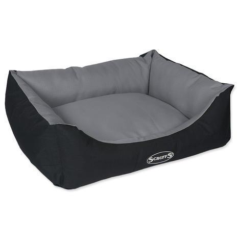 Pelíšek SCRUFFS Expedition Box Bed šedivý  M