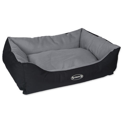 Pelíšek SCRUFFS Expedition Box Bed šedivý  L