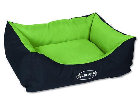 Pelíšek SCRUFFS Expedition Box Bed limetkový S