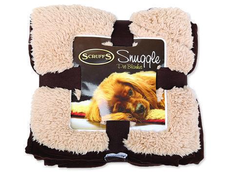 Deka SCRUFFS Snuggle Blanket mix barev  110 cm