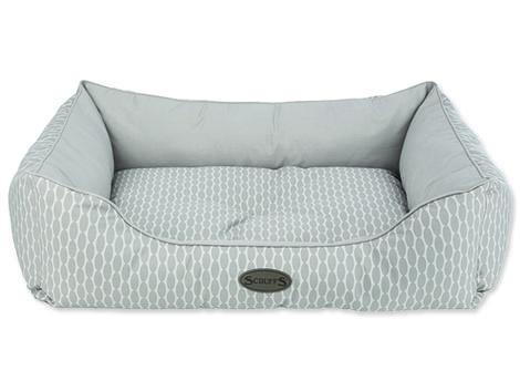 Pelíšek SCRUFFS Siesta box bed světle hnědý  XL