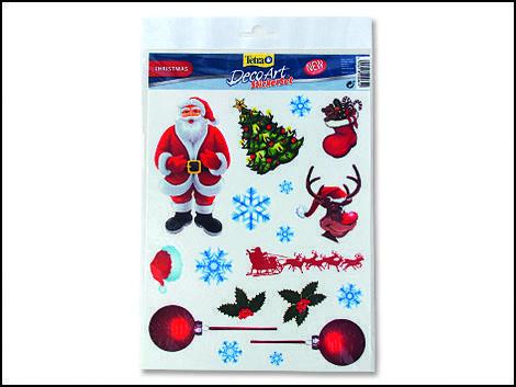 Dekorace TETRA DecoArt samolepky vánoce 18ks