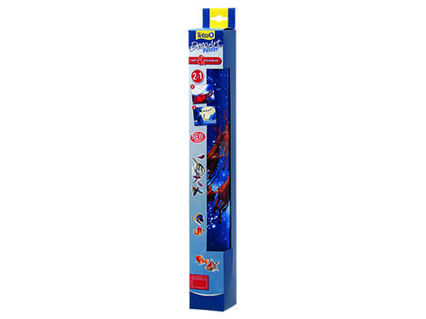 Pozadí TETRA DecoArt tapeta santa / sněhulák 60 x 45 cm 60 x 45 cm
