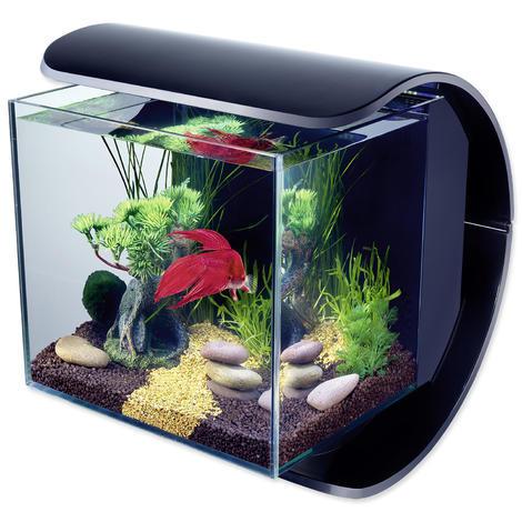 Akvárium set TETRA Silhouette LED černé !! POUZE OSOBNÍ ODBĚR !! 12l