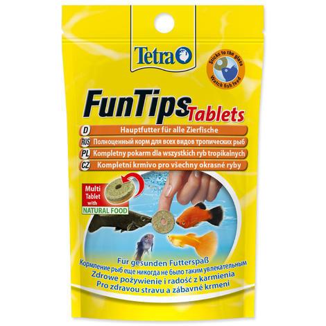 Tetra Tablets FunTips 20tablet - 1